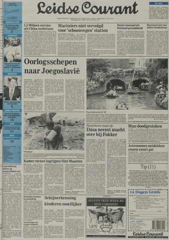 Leidse Courant 1992-07-10