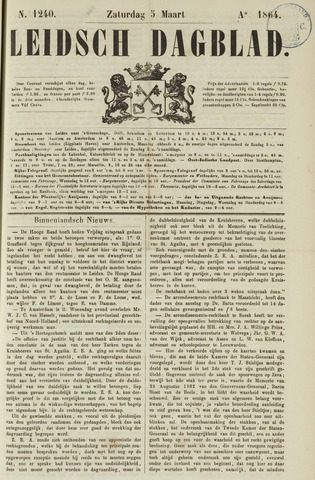 Leidsch Dagblad 1864-03-05