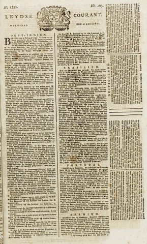 Leydse Courant 1822-08-28