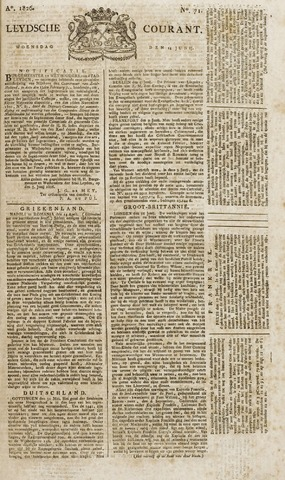 Leydse Courant 1826-06-14