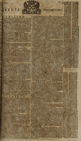 Leydse Courant 1751-03-10