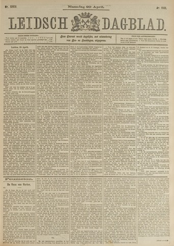 Leidsch Dagblad 1901-04-29