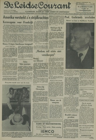 Leidse Courant 1961-09-08