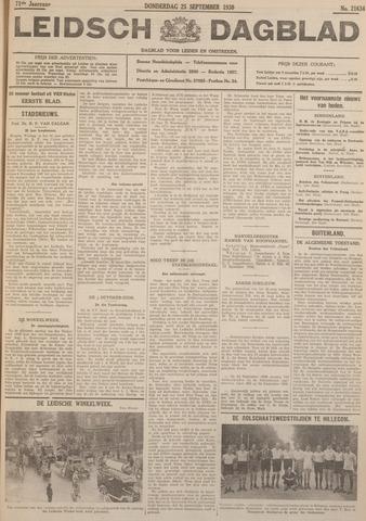 Leidsch Dagblad 1930-09-25