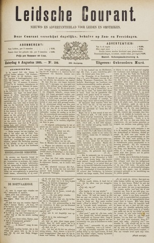 Leydse Courant 1885-08-08