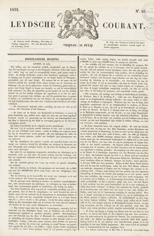Leydse Courant 1852-07-16