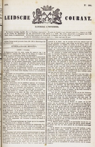 Leydse Courant 1876-11-04