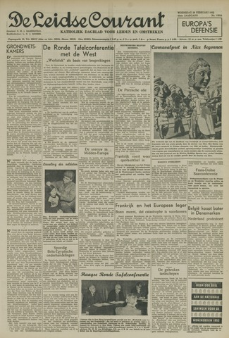 Leidse Courant 1952-02-20