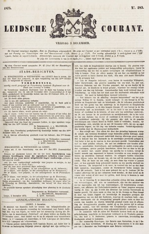 Leydse Courant 1875-12-03
