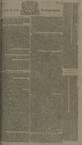 Leydse Courant 1744-11-11