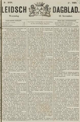 Leidsch Dagblad 1868-11-25