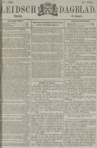 Leidsch Dagblad 1878-01-15