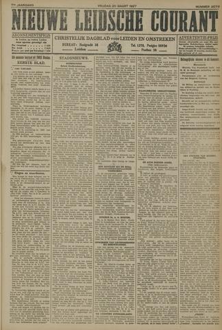 Nieuwe Leidsche Courant 1927-03-25