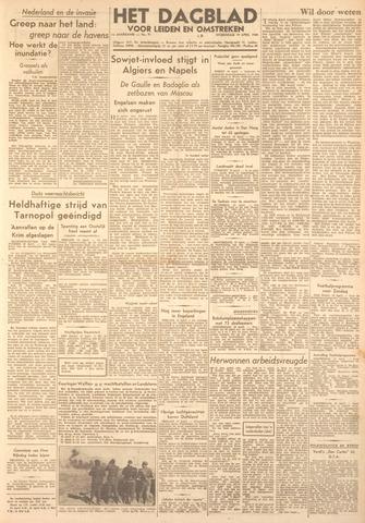 Dagblad voor Leiden en Omstreken 1944-04-19