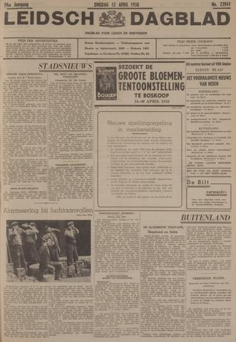 Leidsch Dagblad 1938-04-12