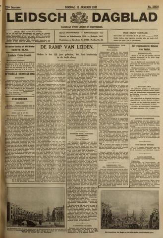 Leidsch Dagblad 1932-01-12
