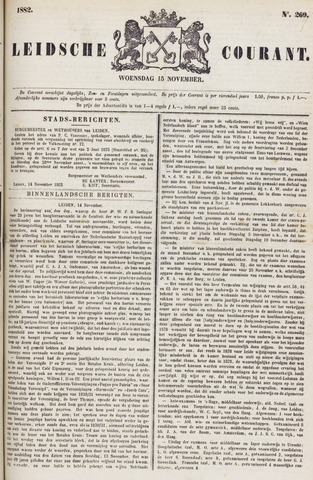 Leydse Courant 1882-11-15