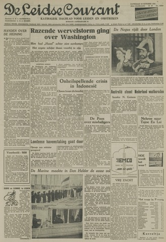 Leidse Courant 1954-10-16