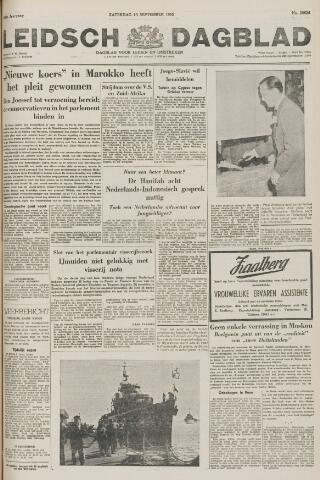 Leidsch Dagblad 1955-09-10