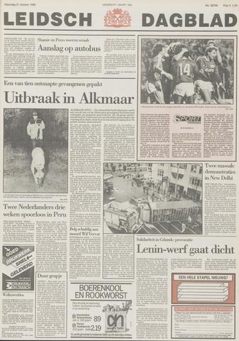 Leidsch Dagblad 1988-10-31