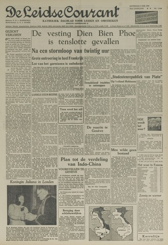 Leidse Courant 1954-05-08