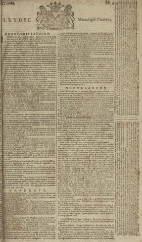 Leydse Courant 1766-01-13