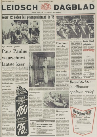 Leidsch Dagblad 1977-06-27