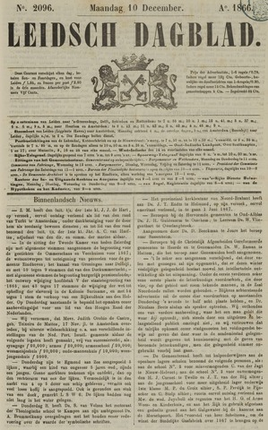 Leidsch Dagblad 1866-12-10