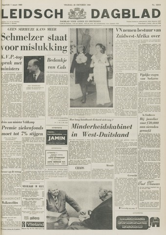 Leidsch Dagblad 1966-10-28