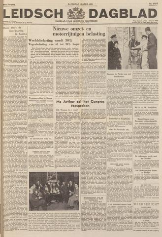 Leidsch Dagblad 1951-04-14