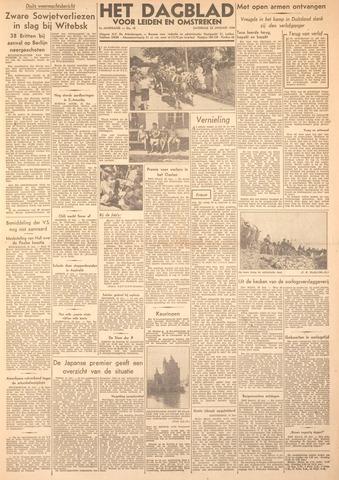 Dagblad voor Leiden en Omstreken 1944-01-22
