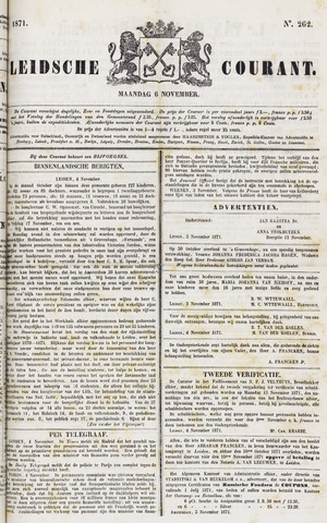 Leydse Courant 1871-11-06