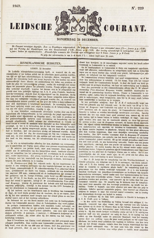 Leydse Courant 1869-12-23