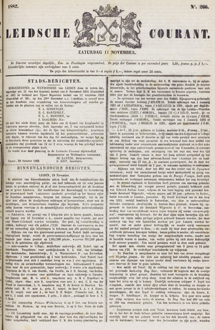 Leydse Courant 1882-11-11