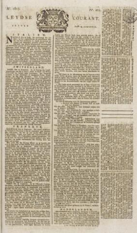 Leydse Courant 1815-08-25
