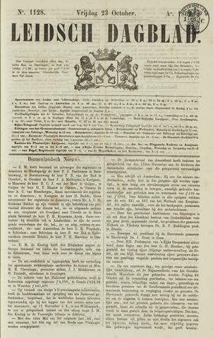 Leidsch Dagblad 1863-10-23