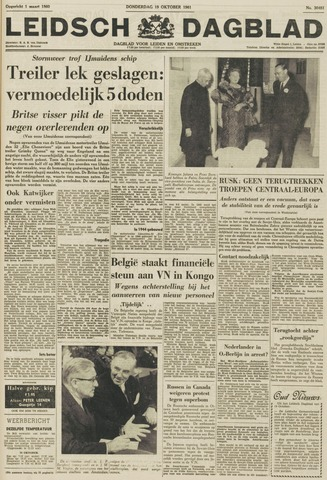 Leidsch Dagblad 1961-10-19