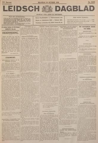 Leidsch Dagblad 1930-10-20