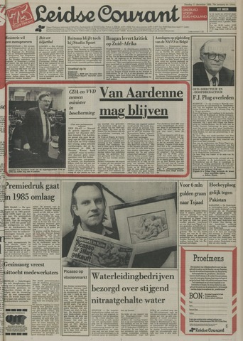 Leidse Courant 1984-12-11