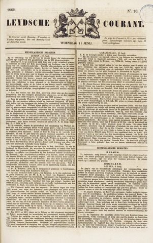 Leydse Courant 1862-06-11