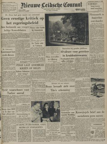 Nieuwe Leidsche Courant 1957-10-16
