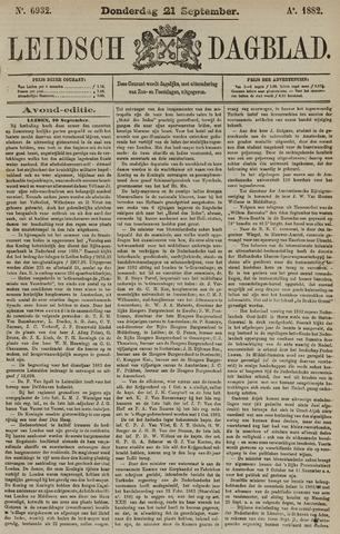 Leidsch Dagblad 1882-09-21