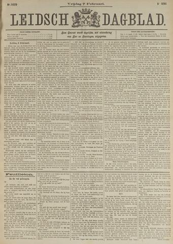 Leidsch Dagblad 1896-02-07