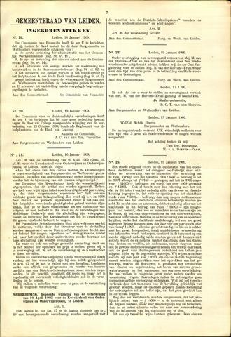 Handelingen van de Raad 1909-01-18