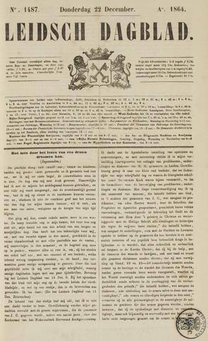 Leidsch Dagblad 1864-12-22