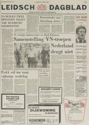Leidsch Dagblad 1979-04-28