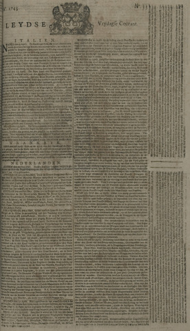 Leydse Courant 1743-05-03