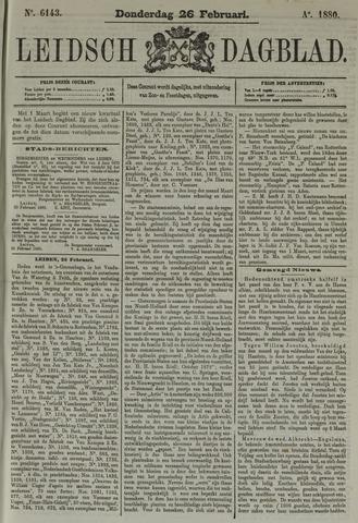 Leidsch Dagblad 1880-02-26