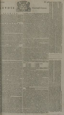 Leydse Courant 1745-08-16