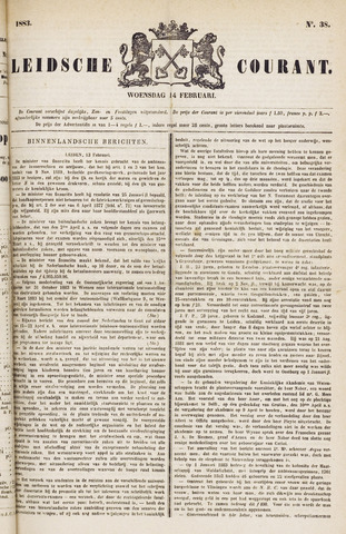 Leydse Courant 1883-02-14